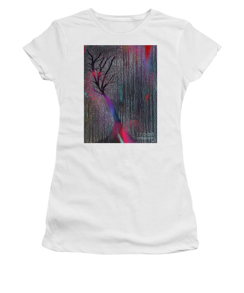 Depth Of Dreams Women's T-Shirt (Junior Cut) by Yul Olaivar