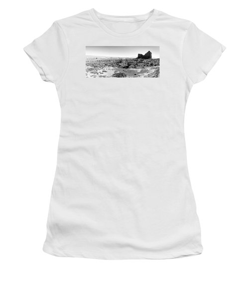 Desert Landscape - Arches National Park Moab, Utah Women's T-Shirt (Athletic Fit)