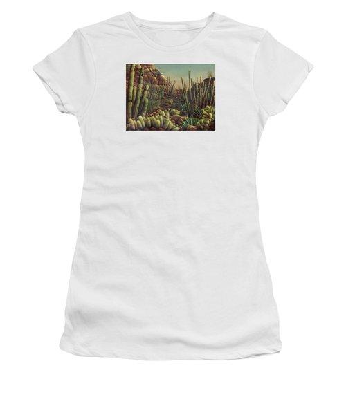 Desert Potpourri  Women's T-Shirt (Junior Cut) by James Larkin