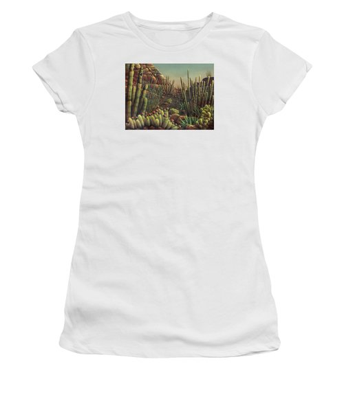 Desert Potpourri  Women's T-Shirt (Athletic Fit)