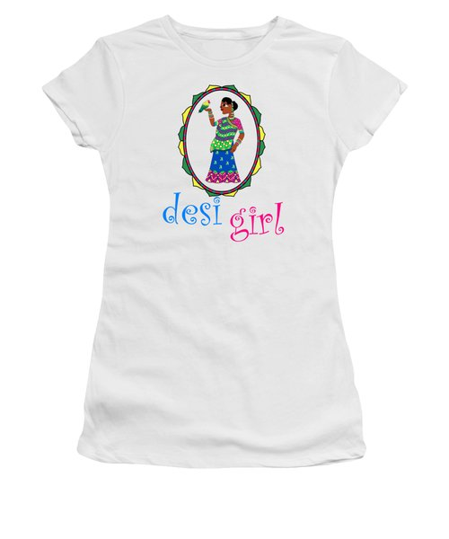 Desi Girl Women's T-Shirt (Athletic Fit)