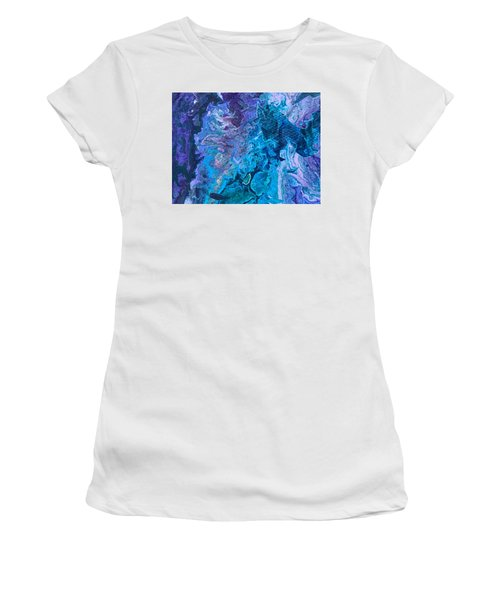 Detail Of Waves 6 Women's T-Shirt (Athletic Fit)