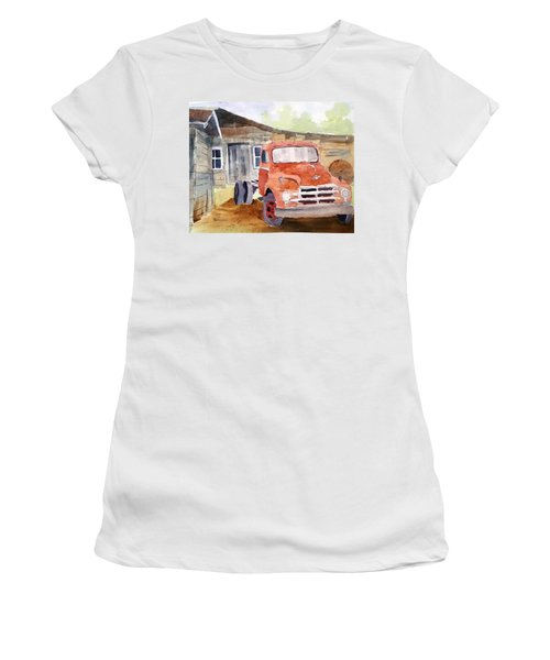 Diamond In The Rough Women's T-Shirt (Junior Cut) by Larry Hamilton