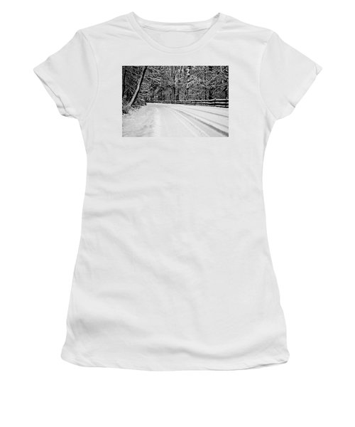 Dicksons Mill Road Women's T-Shirt (Athletic Fit)