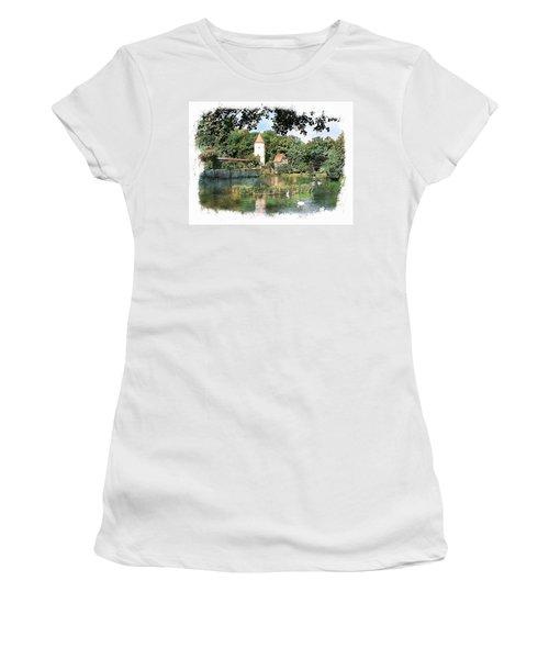 Dinkelsbuhl - Rothenburg Pond Women's T-Shirt