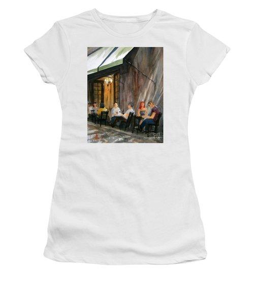 Dinning L'fresco Women's T-Shirt (Athletic Fit)