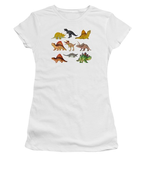 Dino Prehistoric Animals Women's T-Shirt