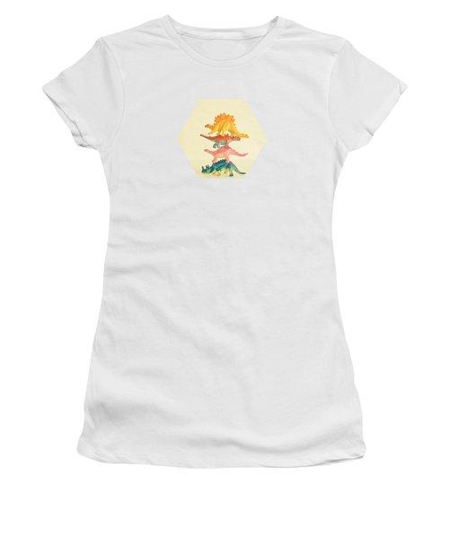 Dinosaur Antics Women's T-Shirt