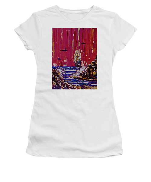 Disaster On The Reef Women's T-Shirt