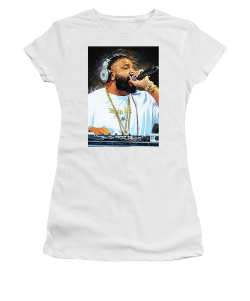 Dj Khaled Women's T-Shirt (Athletic Fit)