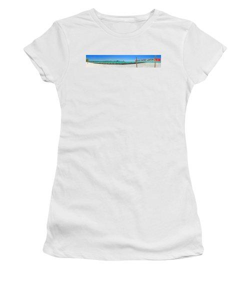 Do Not Enter Water Women's T-Shirt