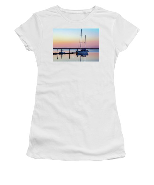 Docked On Jekyll Island Women's T-Shirt