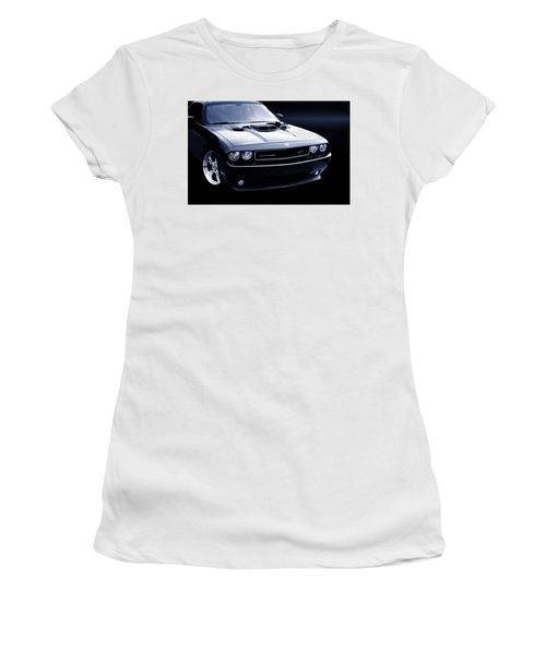 Dodge Challenger Blackbird Sr-71 Women's T-Shirt (Athletic Fit)