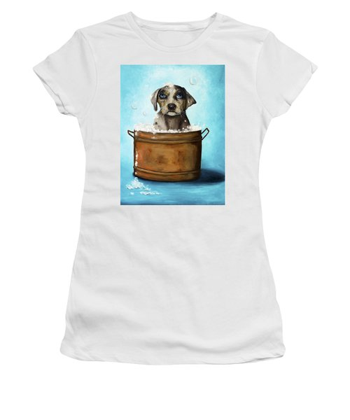 Dog N Suds Women's T-Shirt (Athletic Fit)