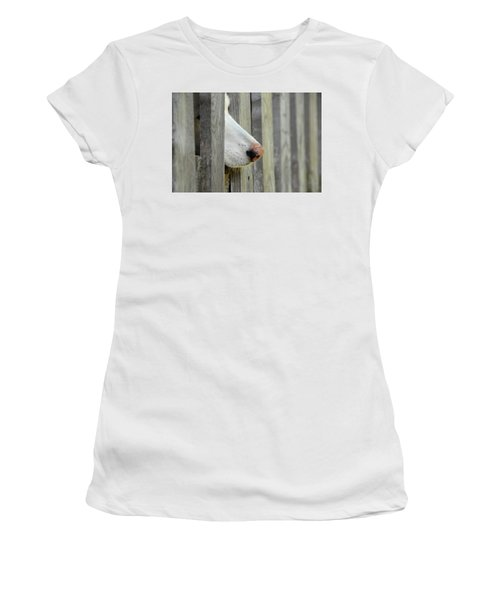 Dog Nose Women's T-Shirt (Athletic Fit)