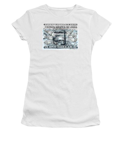 Dollar Submerged Women's T-Shirt