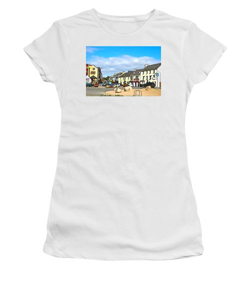 Donegal Town Women's T-Shirt (Athletic Fit)