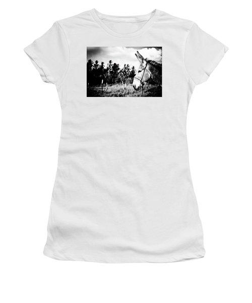 Donkey Women's T-Shirt (Athletic Fit)