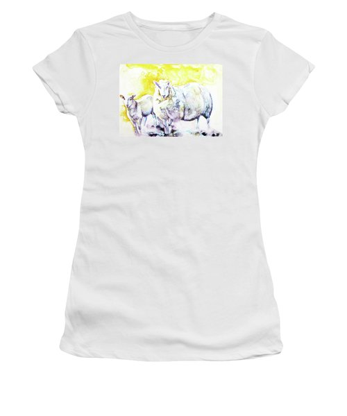 Don't Mess With My Lamb Women's T-Shirt (Athletic Fit)