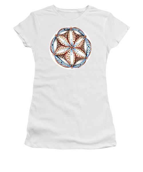 Dotted Zendala Women's T-Shirt