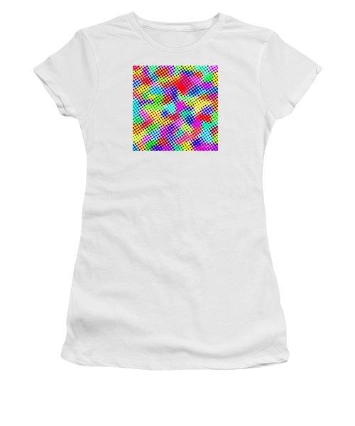 Dotty Women's T-Shirt (Athletic Fit)
