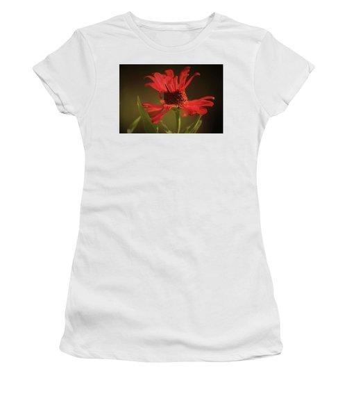 Double Petals Women's T-Shirt (Athletic Fit)