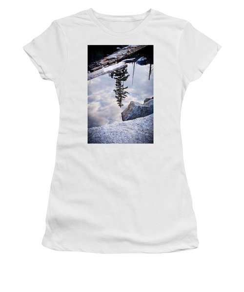Downside Up Women's T-Shirt (Athletic Fit)