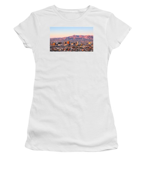 Downtown El Paso Sunrise Women's T-Shirt