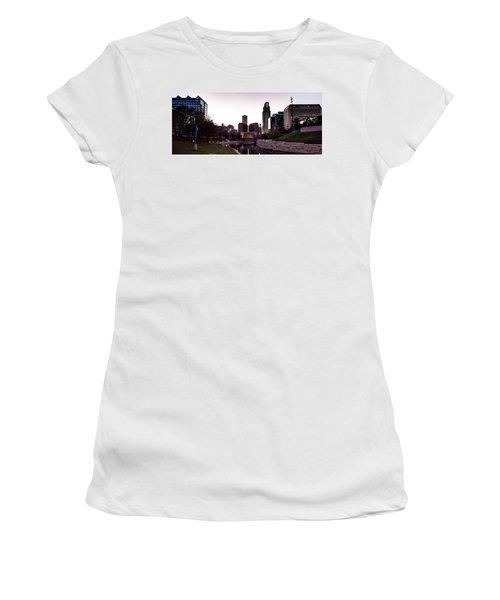 Downtown Omaha At Sunset Women's T-Shirt