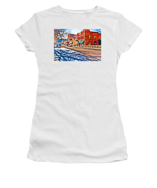 Downtown Salida Hotels Women's T-Shirt (Athletic Fit)