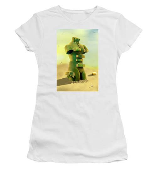 Drawers 2 Women's T-Shirt (Athletic Fit)