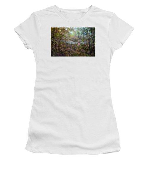 Dreamer Women's T-Shirt (Athletic Fit)