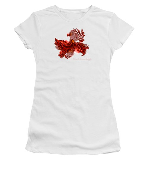 Dreaming Awake Women's T-Shirt (Junior Cut) by Fran Riley