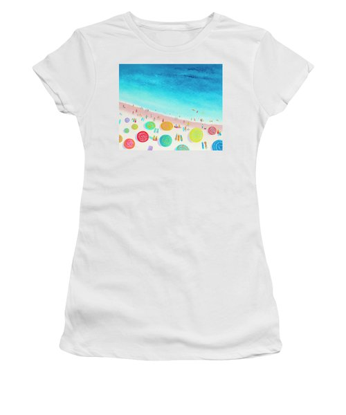 Dreaming Of Sun, Sand And Sea Women's T-Shirt