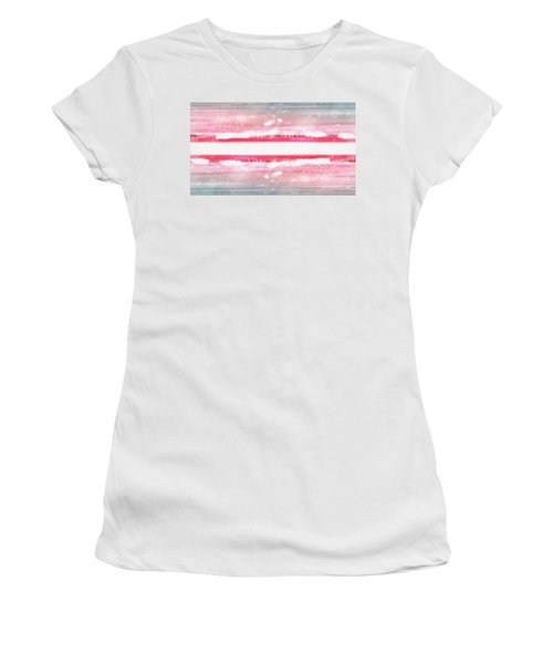 Women's T-Shirt (Athletic Fit) featuring the painting Dreamscape by Edward Fielding
