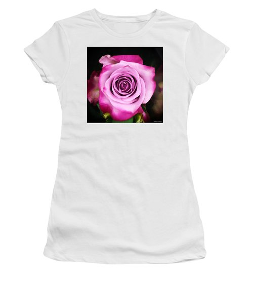 Dreamy Pink Women's T-Shirt (Athletic Fit)
