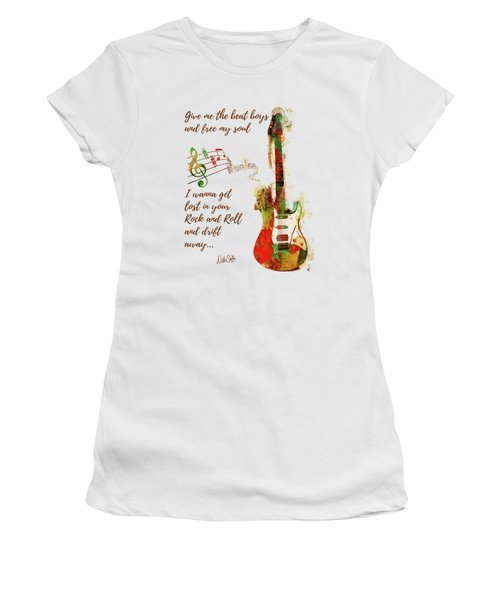 Drift Away Women's T-Shirt (Junior Cut) by Nikki Marie Smith