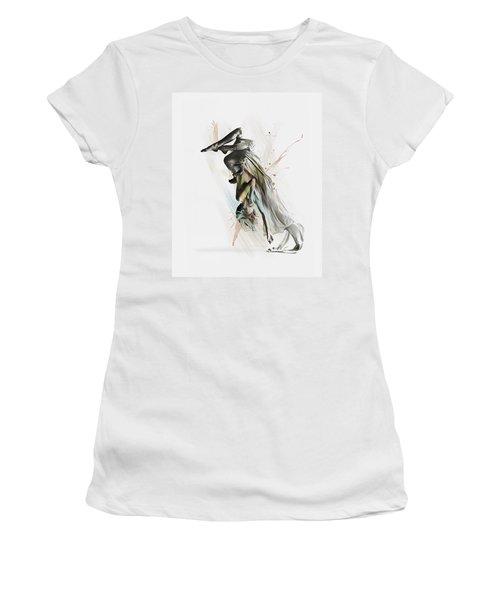 Drift Contemporary Dance Two Women's T-Shirt