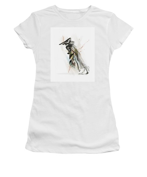 Drift Contemporary Dance Two Women's T-Shirt (Athletic Fit)