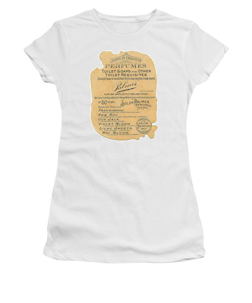 Women's T-Shirt (Athletic Fit) featuring the photograph Druggists by ReInVintaged
