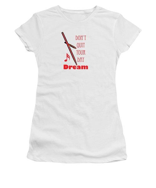 Drum Percussion Fine Art Photographs Art Prints 5020.02 Women's T-Shirt