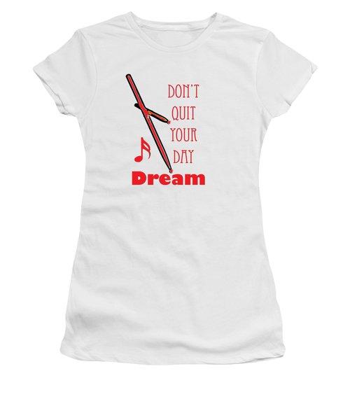 Drum Percussion Fine Art Photographs Art Prints 5020.02 Women's T-Shirt (Athletic Fit)