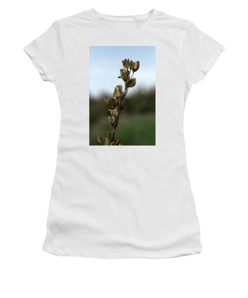 Drying Flower Women's T-Shirt (Athletic Fit)