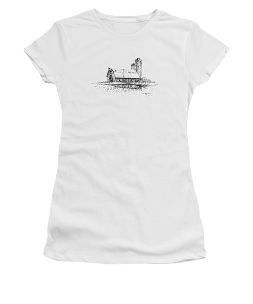 Dual Silos Women's T-Shirt (Athletic Fit)