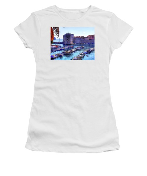 Dubrovnik Harbour Women's T-Shirt