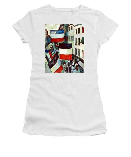 Dufy: Flags, 1906 Women's T-Shirt