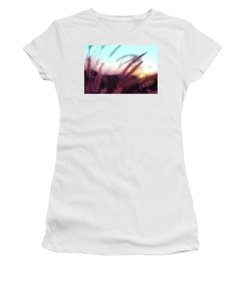 Dune Scape Women's T-Shirt (Athletic Fit)