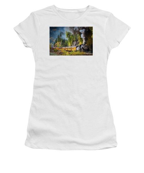 Durango-silverton Narrow Gauge Railroad Women's T-Shirt