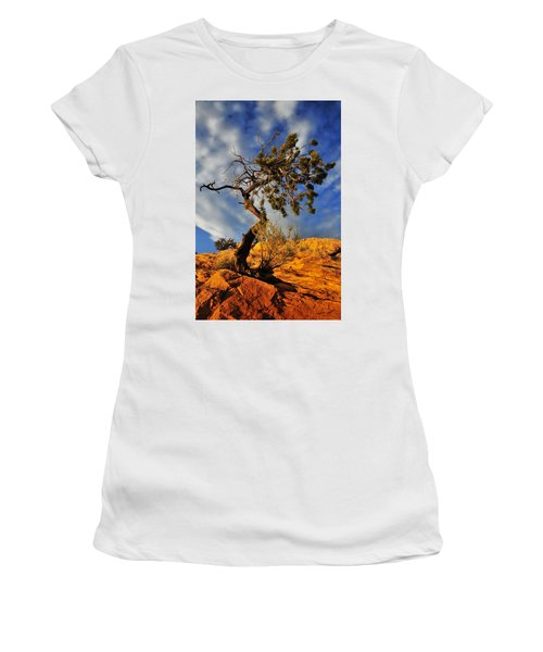 Dusk Dance Women's T-Shirt (Athletic Fit)