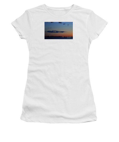 Dusk Over Boston Women's T-Shirt (Athletic Fit)